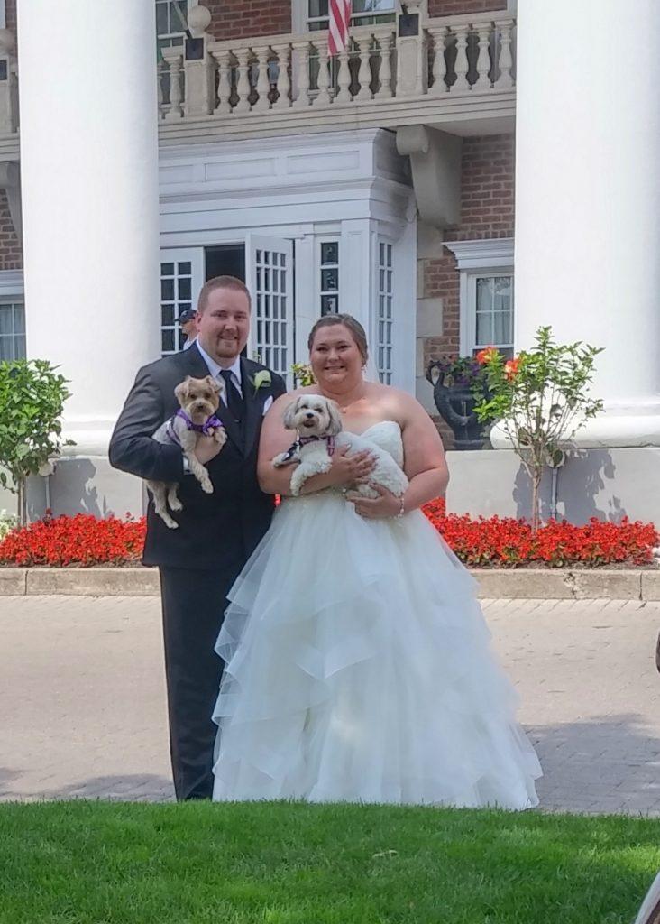 teddy george wedding