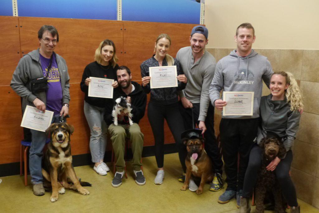 dog training class intermediate may 2019