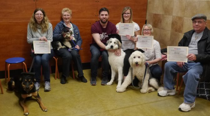 Dog Training Grads Spring 2019