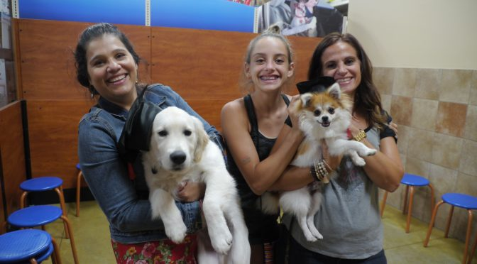 Dog Day Training Graduates