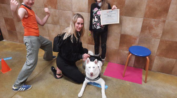 Dog Training Graduates, April 2021